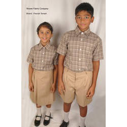 School Uniform Twill Suiting Fabric