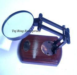 Antique Brass Magnifying