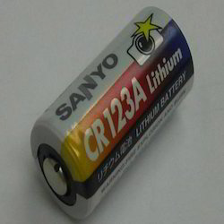 Sanyo CR 123 A Lithium Battery