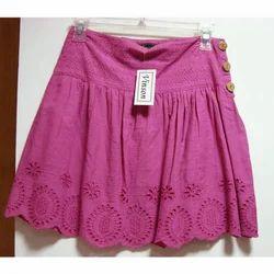 Short Pink Skirt