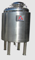 SS Jacketed Insulation Pharma Vessels