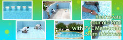 Renovate Your Old Pool with PVC Membrane with 1.5 Mm Thk