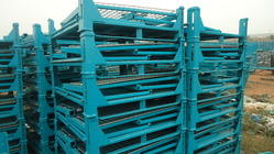 Collapsible Storing and Transport Pallets
