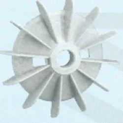 Plastic Fan Suitable for Bharat Bijlee 80 Frame Size 2 Pole