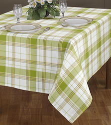 Amazing Checked Printed Table Cover