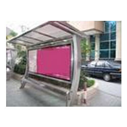 Stainless Steel Bus Stops Shelter