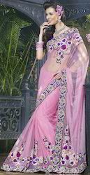 Pure Net Saree Bnd-800