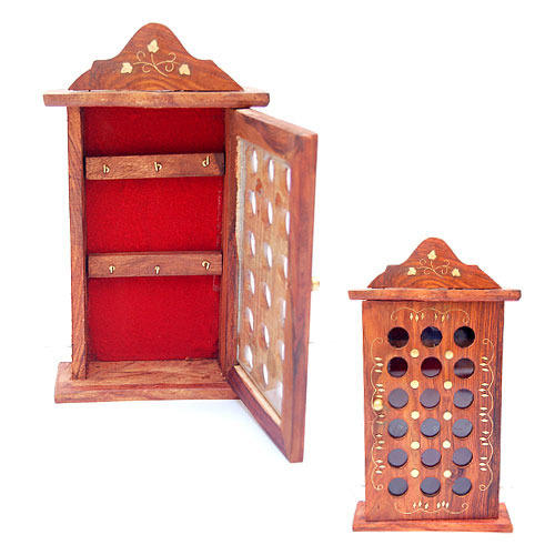 wooden key box key holders manufacturer from noida