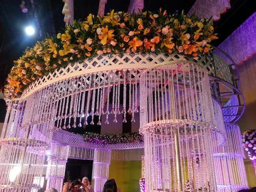 Stage decorations wedding stage service provider from trichur wedding stage get best quote junglespirit Gallery