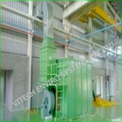 Activated Carbon Scrubber with Dry Type Paint Booth