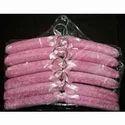 Pink Satin Hangers