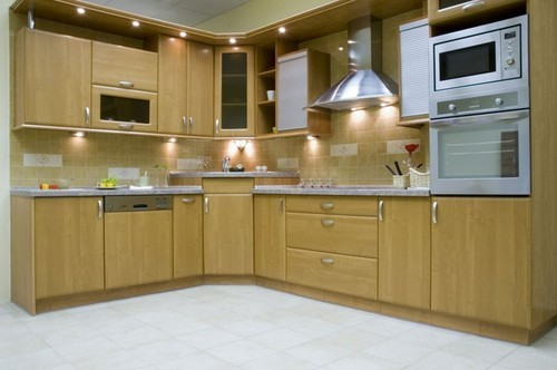 Aluminium Works Kitchen Cupboard Service Provider From