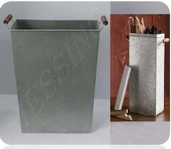 Metal Charcoal Bin