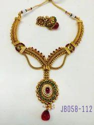 Antique Meenakari Necklace