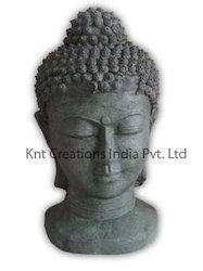 Antique Stone Buddha Sculpture