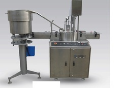 Automatic Single Head Capping Machine