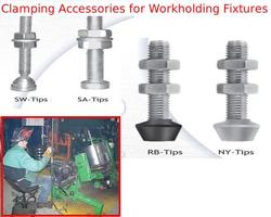 clamping accessories for work holding fixtures