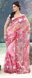 Full Net Saree Pal-2200