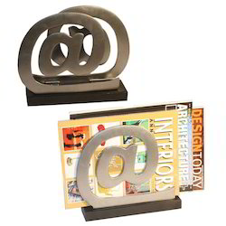 Designer Magazine Holder