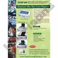 Aluminum Automatic Shoe Cover Dispenser