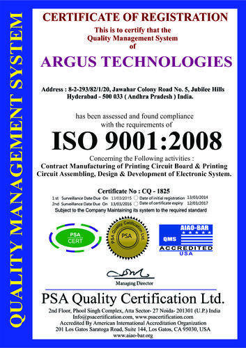 Argus Embedded Systems Private Limited - OEM Manufacturer from ...