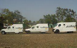 bullet proof cash vans