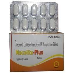 Ambroxol Cetirizine Paracetamol Phenylephrine Tablet