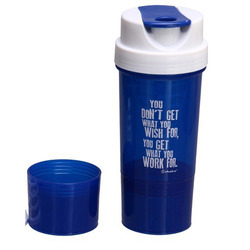 Tornado Blue Shaker Bottle
