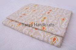Ikat+Print+Kantha+Quilts