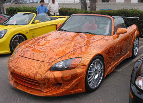 Incroyable Car Vinyl Wrapping Service