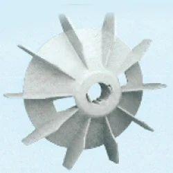 Plastic Fan Suitable For Bharat Bijlee 112 Frame Size