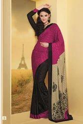 Graceful Trendy Printed Designer Sarees