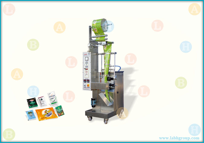 Sachet Packaging Machine with Piston Filler