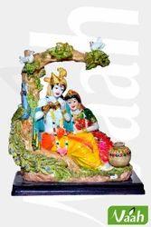 Vaah Polyresin Radha Krishna Tree Statue