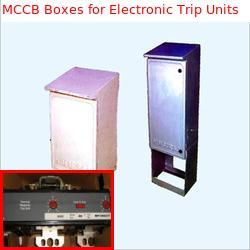 frp mcb boxes for electronic trip units