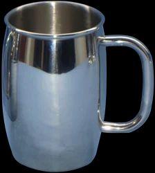 Stainless Steel Plain Beer Mug