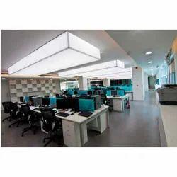 workspace backlit ceiling