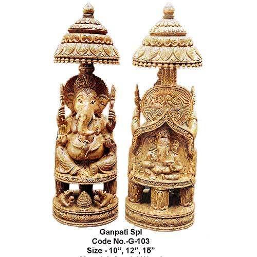 Ganesha Idol, Sandalwood Ganesha