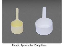 plastic spoons for daily use