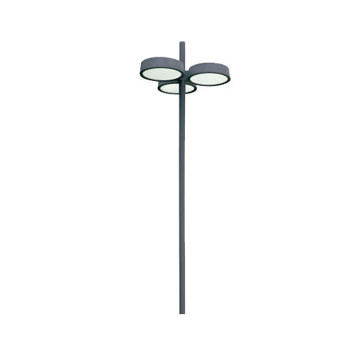 Garden Pole Light View Specification Details by Rexnamo