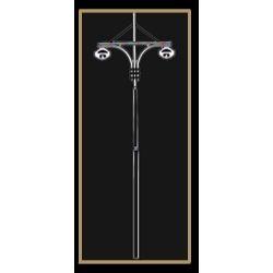swaged street poles