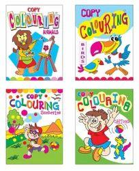 Copy Colouring-I Books