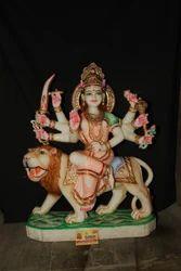 Marble Hindu Goddess Durga