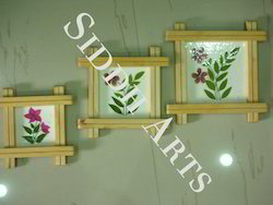 Dry Leaf Painting Set Of Three