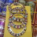 Multi Color Stone Bangles