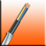Flame Retardent (FR) Armoured Cable