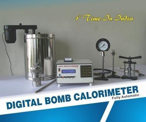 Bomb Calorimeter, Digital