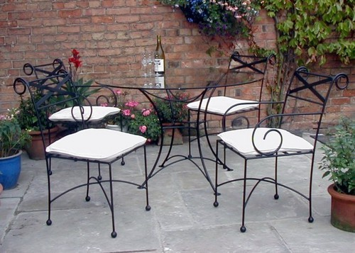 Metal furnitures wrought iron furniture manufacturer from new delhi - Muebles de hierro ...