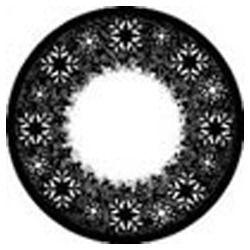 Black Star Color Contact Lens