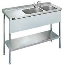 Stainless Steel Sink Manufacturers : Stainless Steel Sinks - SS Sinks with Table Manufacturer from Mumbai.